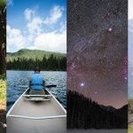 mountain biking, kayaking, hiking, and stargazing